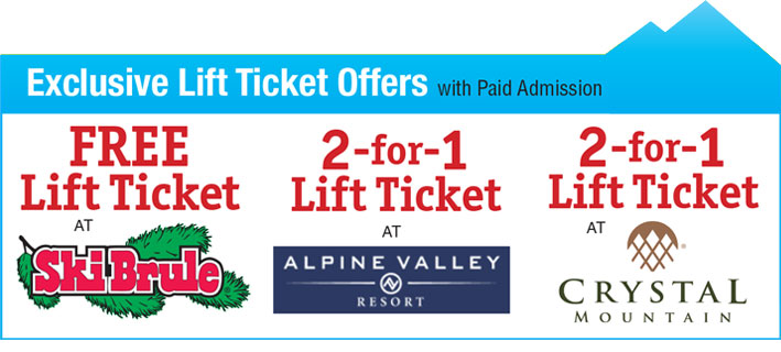 Windy City Ski and Snowboard Show Lift Ticket offers